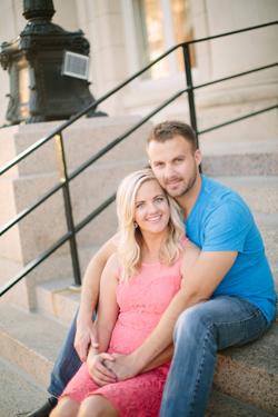 Sara Lauby and Dave Mackey