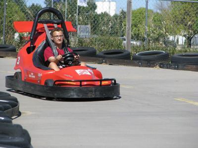 Big Apple Fun Center go-karts