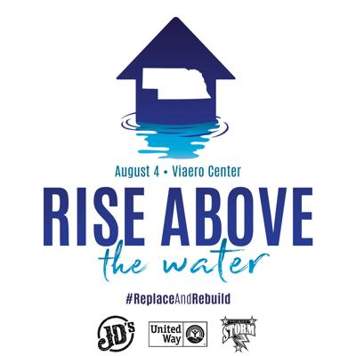 'Rise Above the Water' event, featuring inflatables, food trucks and beer garden, to raise money for flood relief