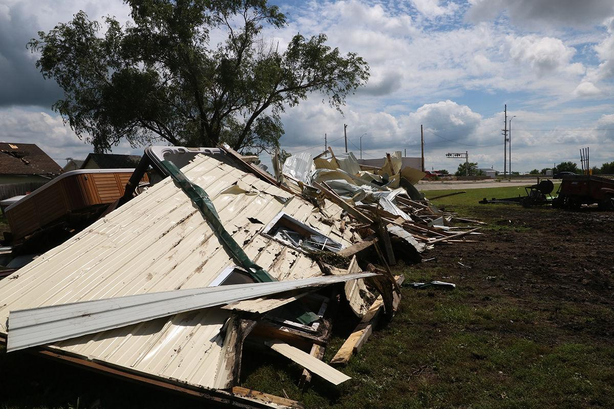 Straight line winds up to 80 mph cause damage, power outages in Cozad