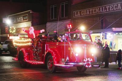 Light up Lexington Christmas Parade