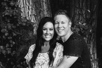 Stephanie Straka and Jake Flint