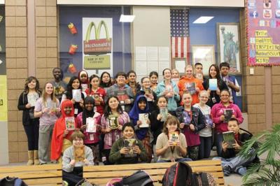 Lexington students embrace one million word reading challenge
