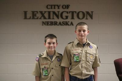 Local Boy Scouts attend Lex City Council meeting