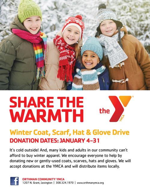 YMCA Collecting Winter Coats, Hats & Mittens