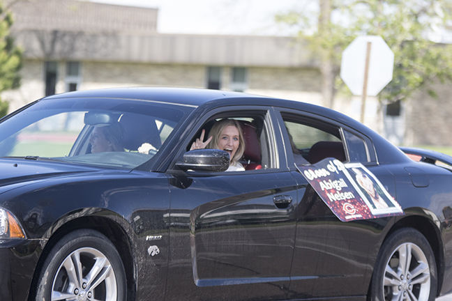 Cozad's Class of 2020 takes to the streets as a way to celebrate amid a pandemic