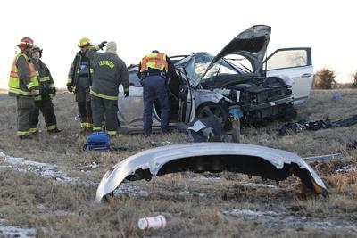 Illinois vehicle rollover near Overton
