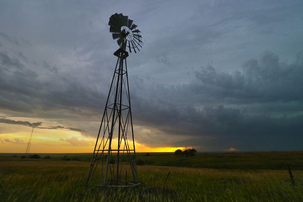Windmill and supercell