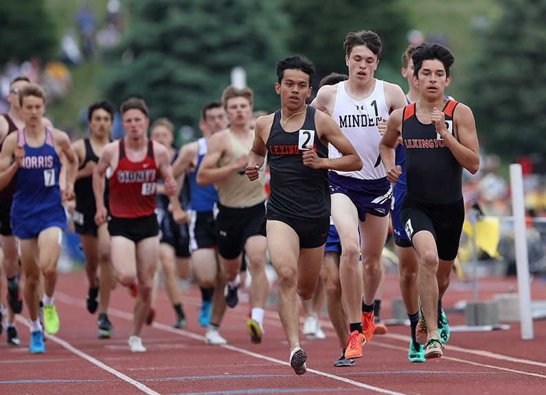 Ajack Waikur, Lex, Class B boys intermediate hurdles 2 BW.jpg