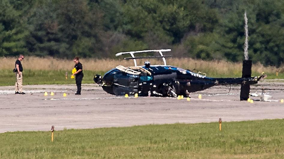 2 Injured when Omaha police helicopter crashes – Private