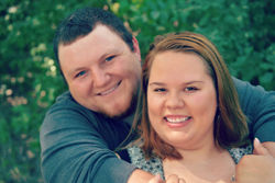 Zach Harris and Kaylee Williams