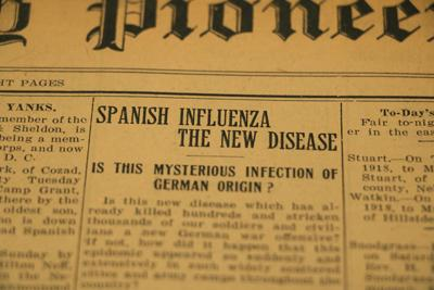 A look back on the pandemic which struck the world 102 years ago: Spanish Influenza