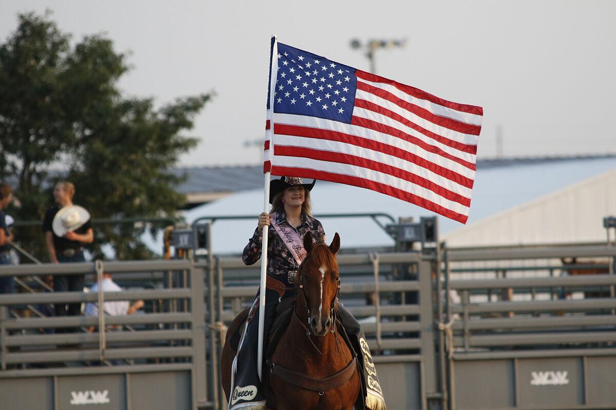 Locals and visitors take part in the Dawson County Fair Rodeo over the weekend