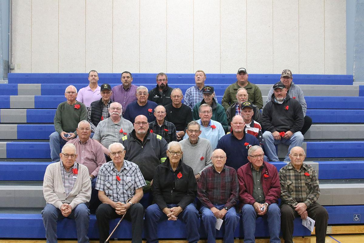 Overton honors their local veterans