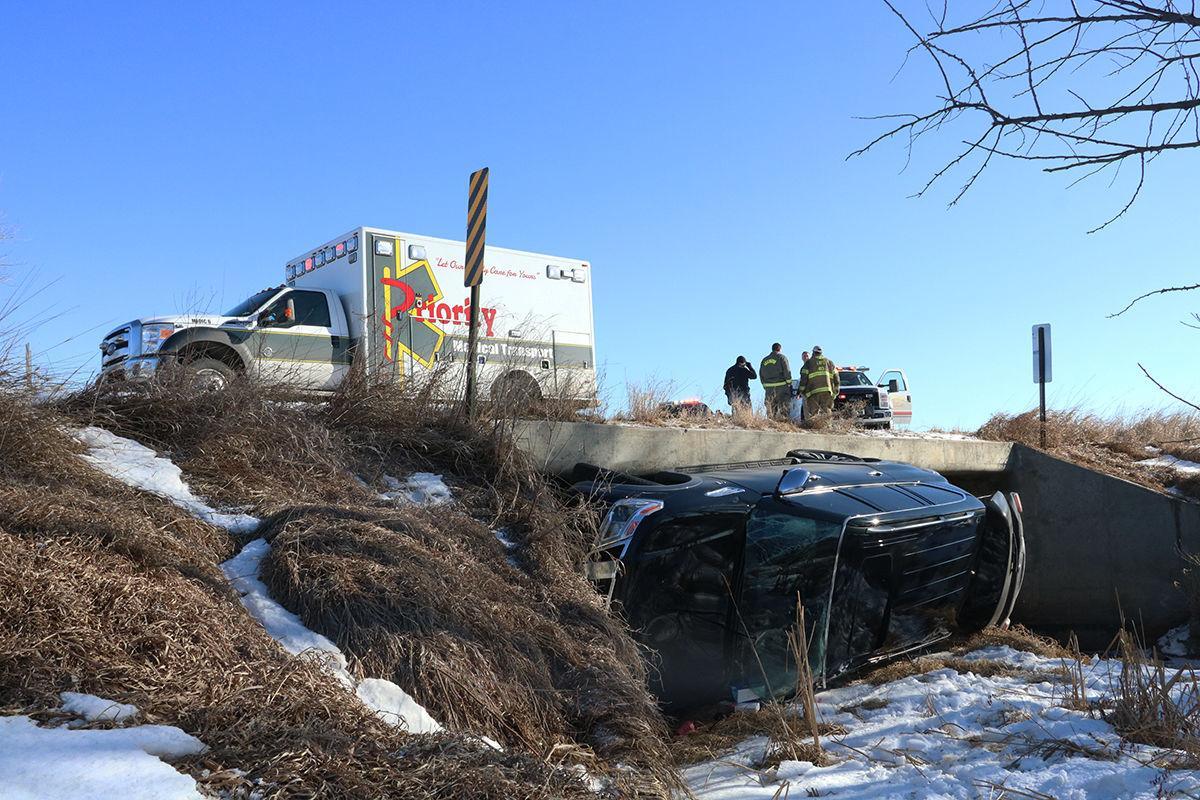 SUV accident on Buffalo Creek Bridge
