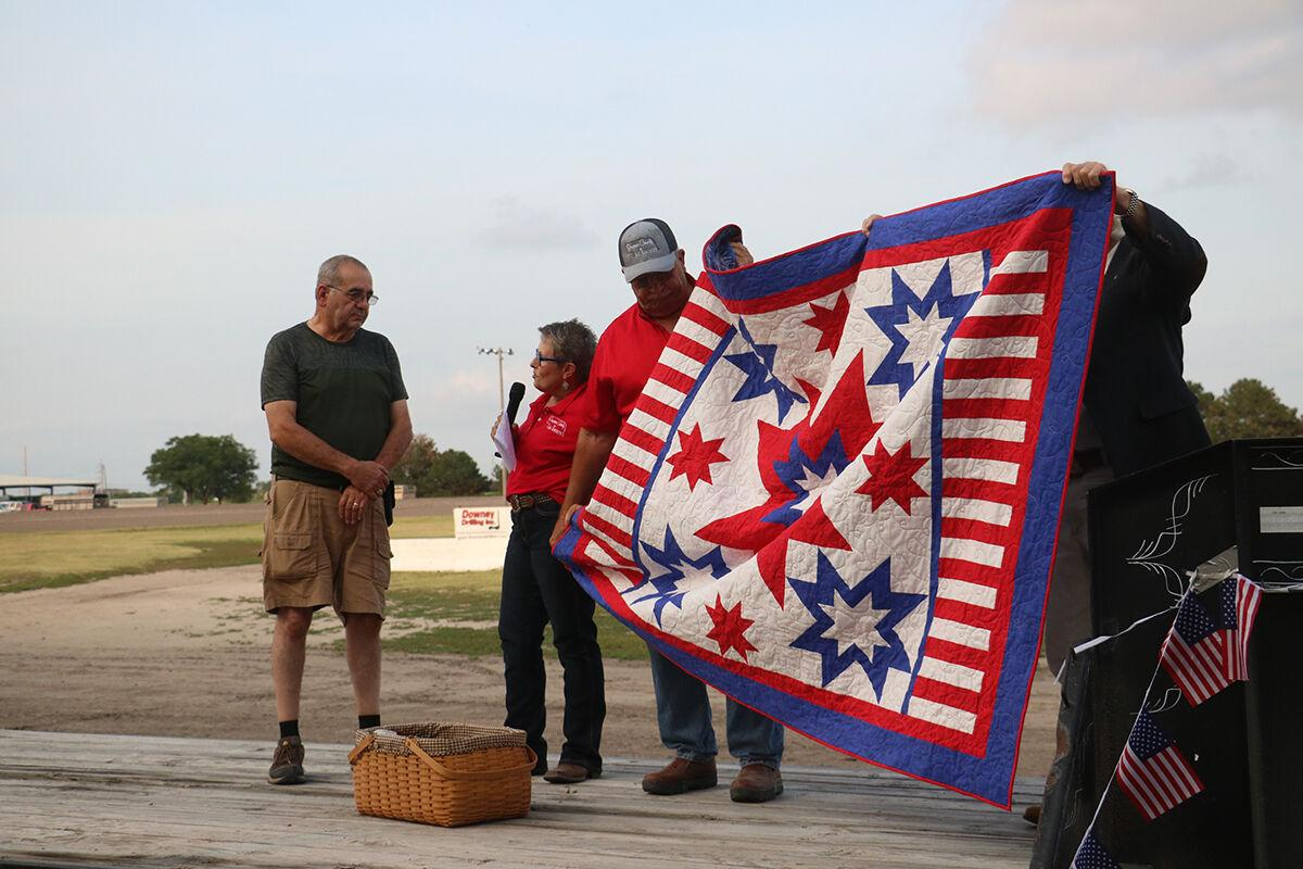 Quilts of Valor presented to local veterans Gary Reiber and Dave Biehl