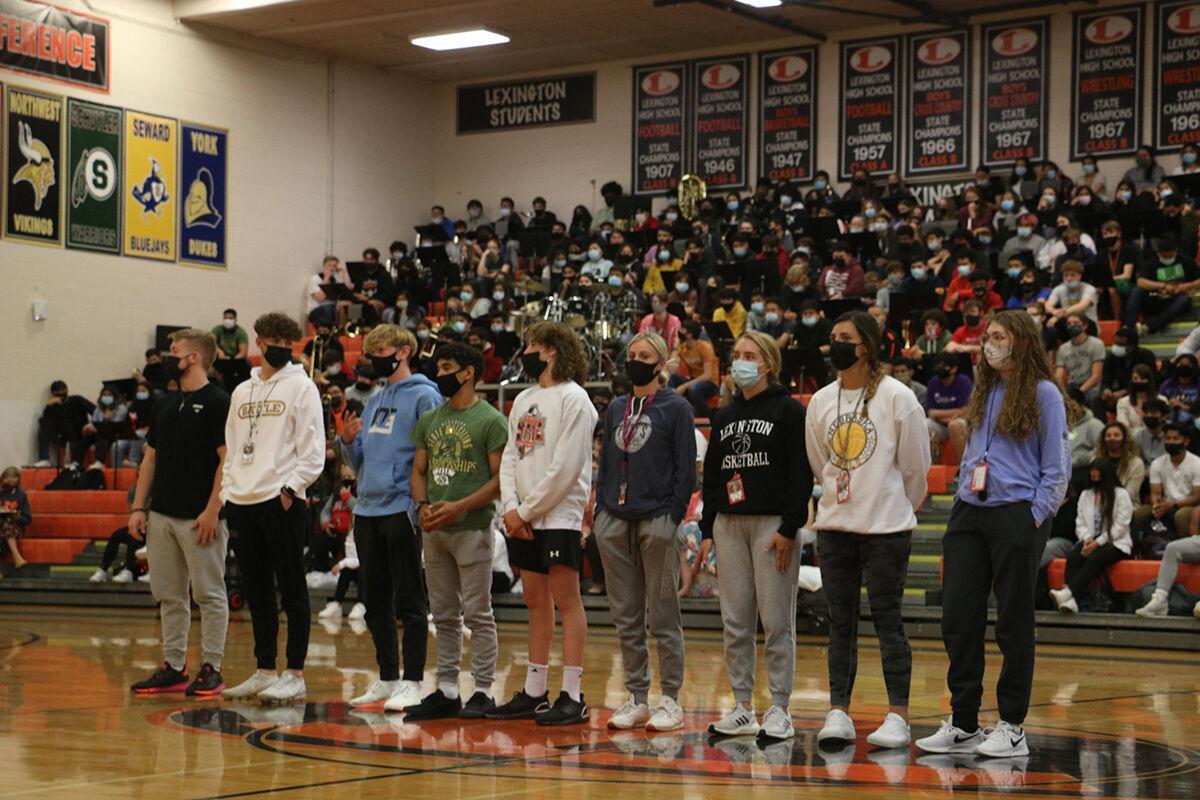 Spring semester academic pep rally honors hard work of Lexington High School students