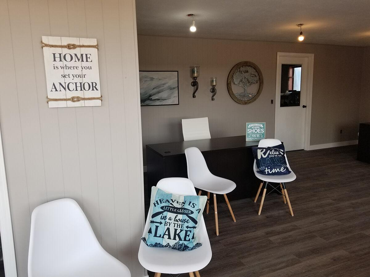 Cottonwood Realty hosts sneak peak of their new branch office at Johnson Lake