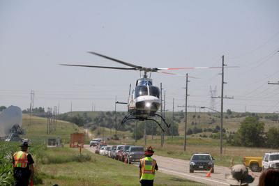 Mock accident trains responders