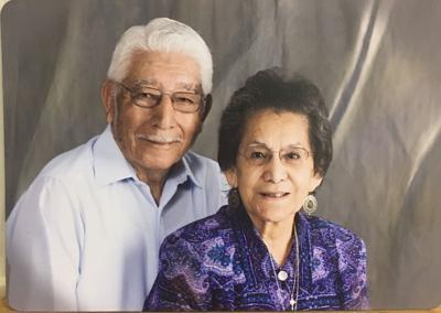 Pete and Helen Araujo celebrating 65th Anniversary