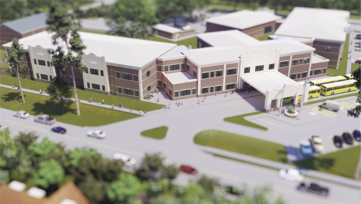 Denham Springs Elementary Rendering 1