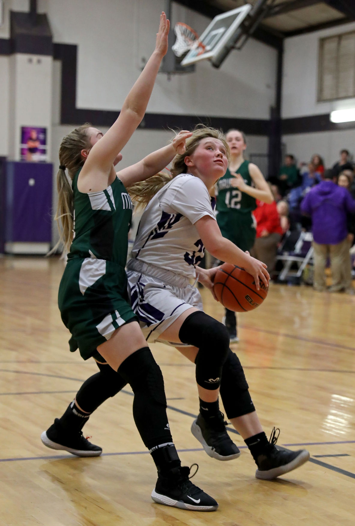 Maurepas at Holden girls basketball Kacey Breithaupt, Emma Gautreau