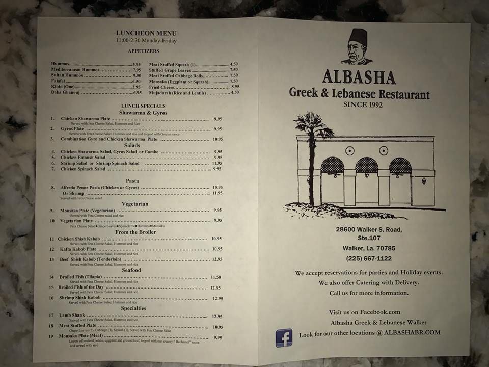 Albasha menu 2