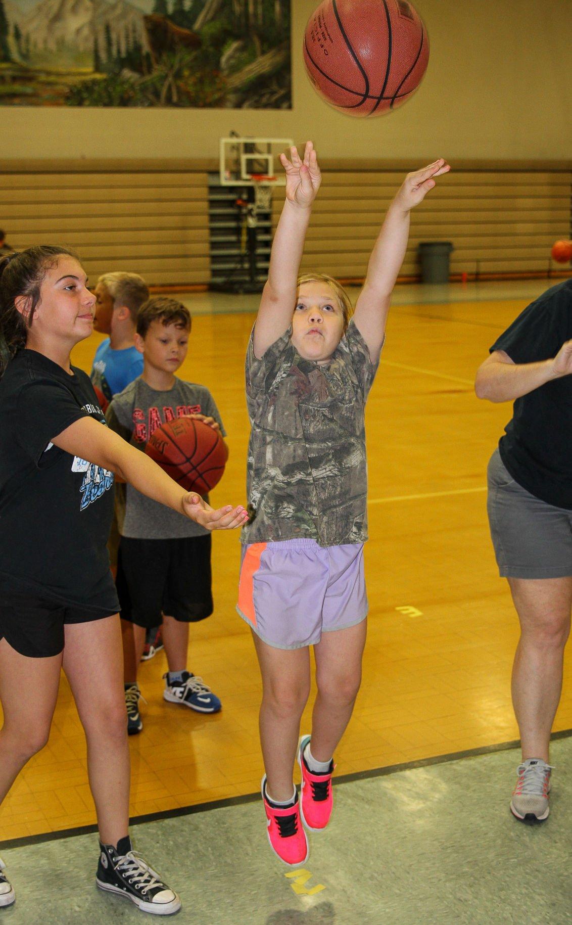 North Corbin basketball camp