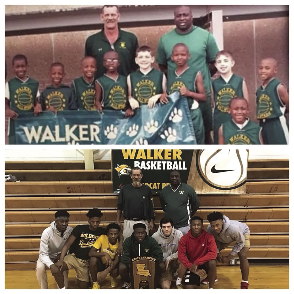 Walker boys then and now