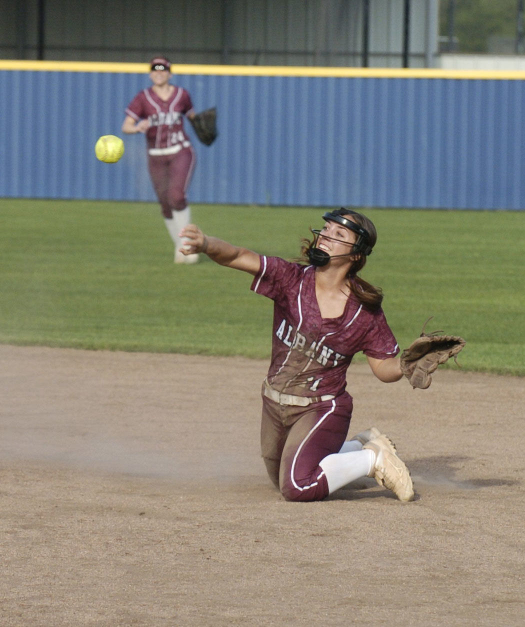 "Albany softball vs. Erath"" Rayanne Ridgell"