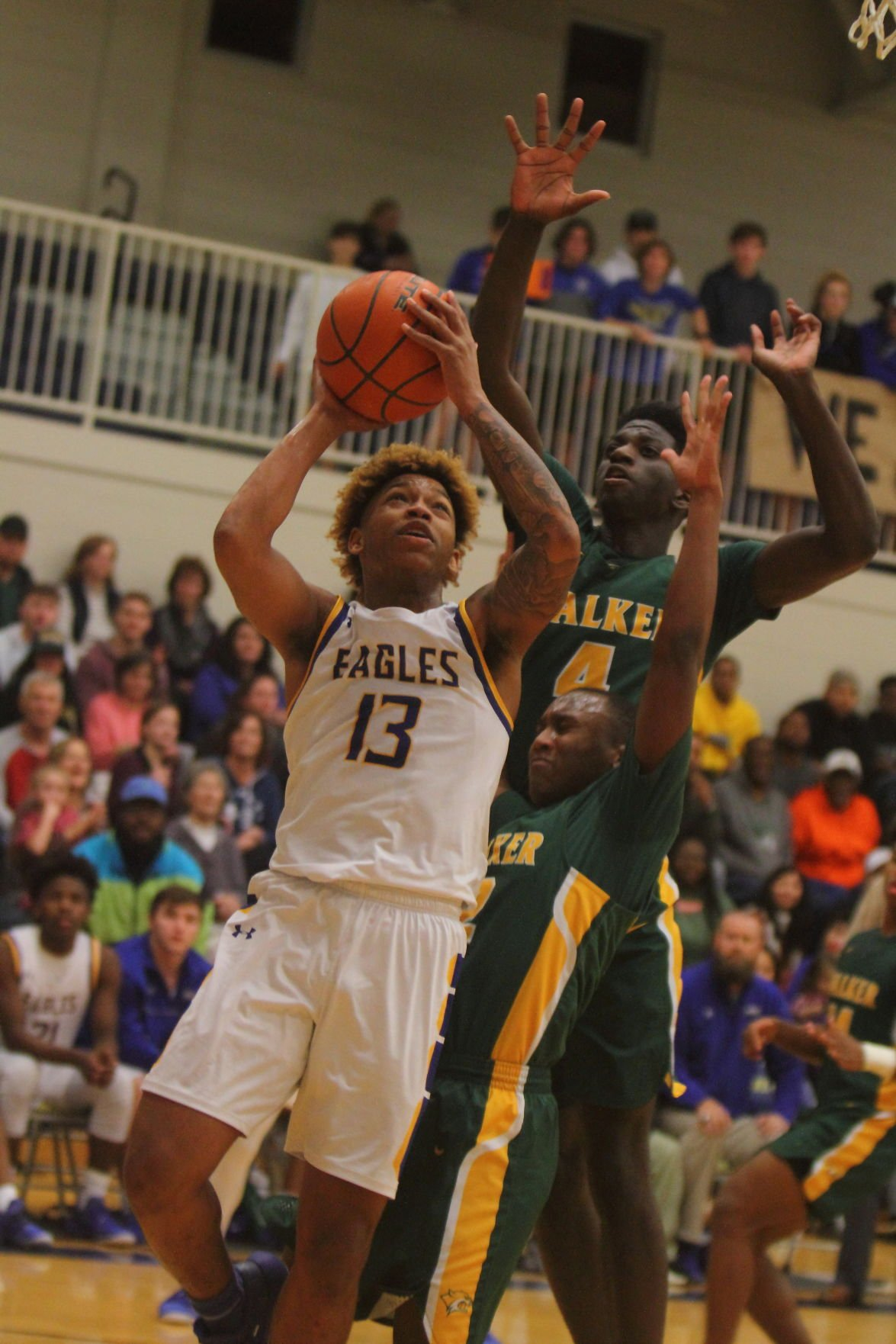 Walker vs. Live Oak boys Lawrence Pierre