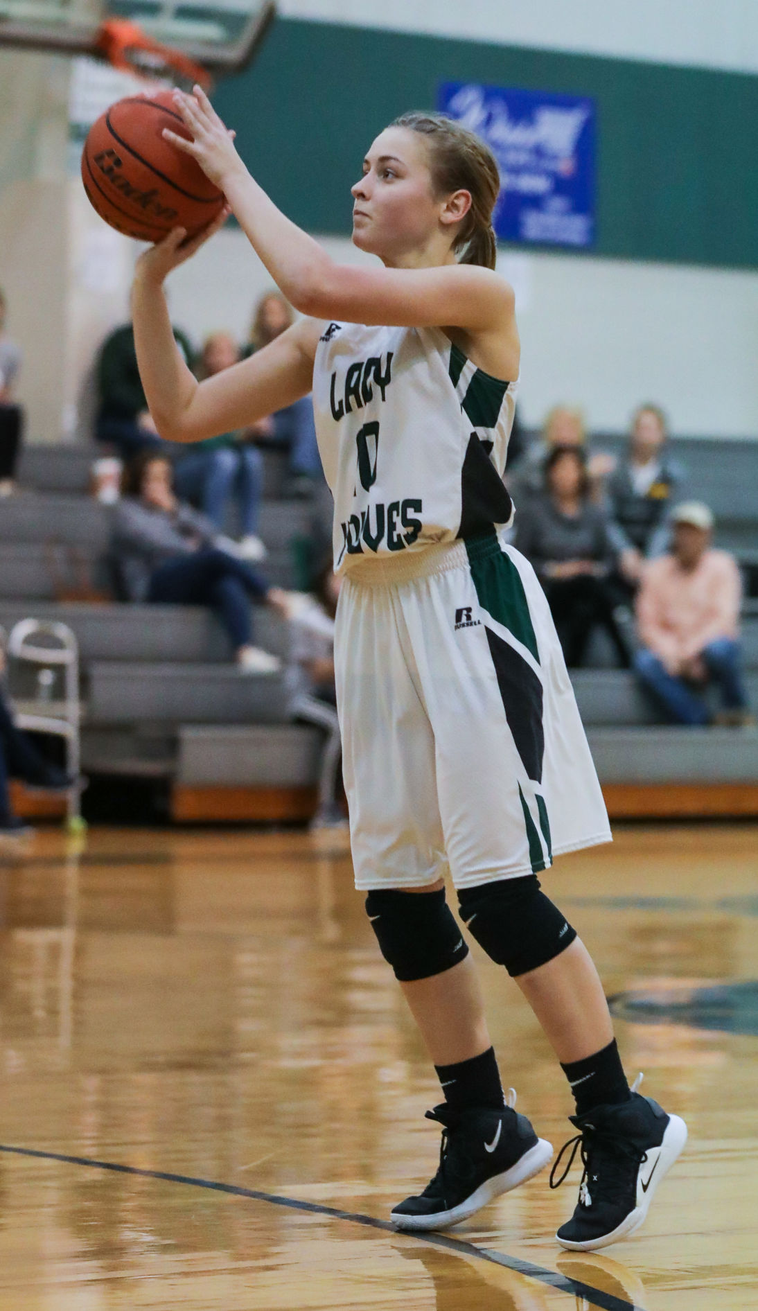 Family Christian at Maurepas girls basketball Sarah Crawford