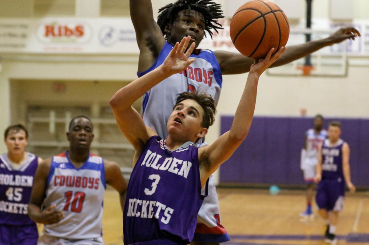 Holden-Sumner basketball Landon Slocum