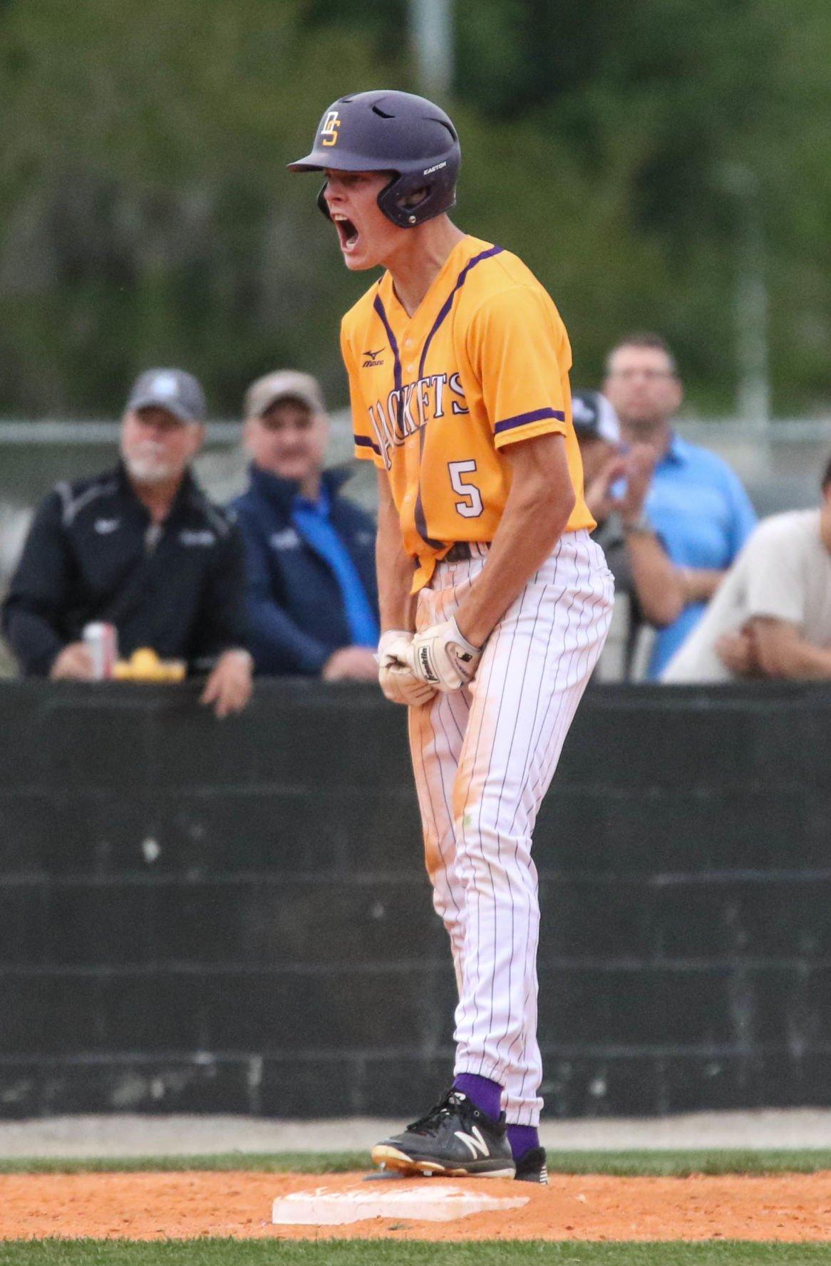 Mandeville vs Denham baseball: Tyler Evans