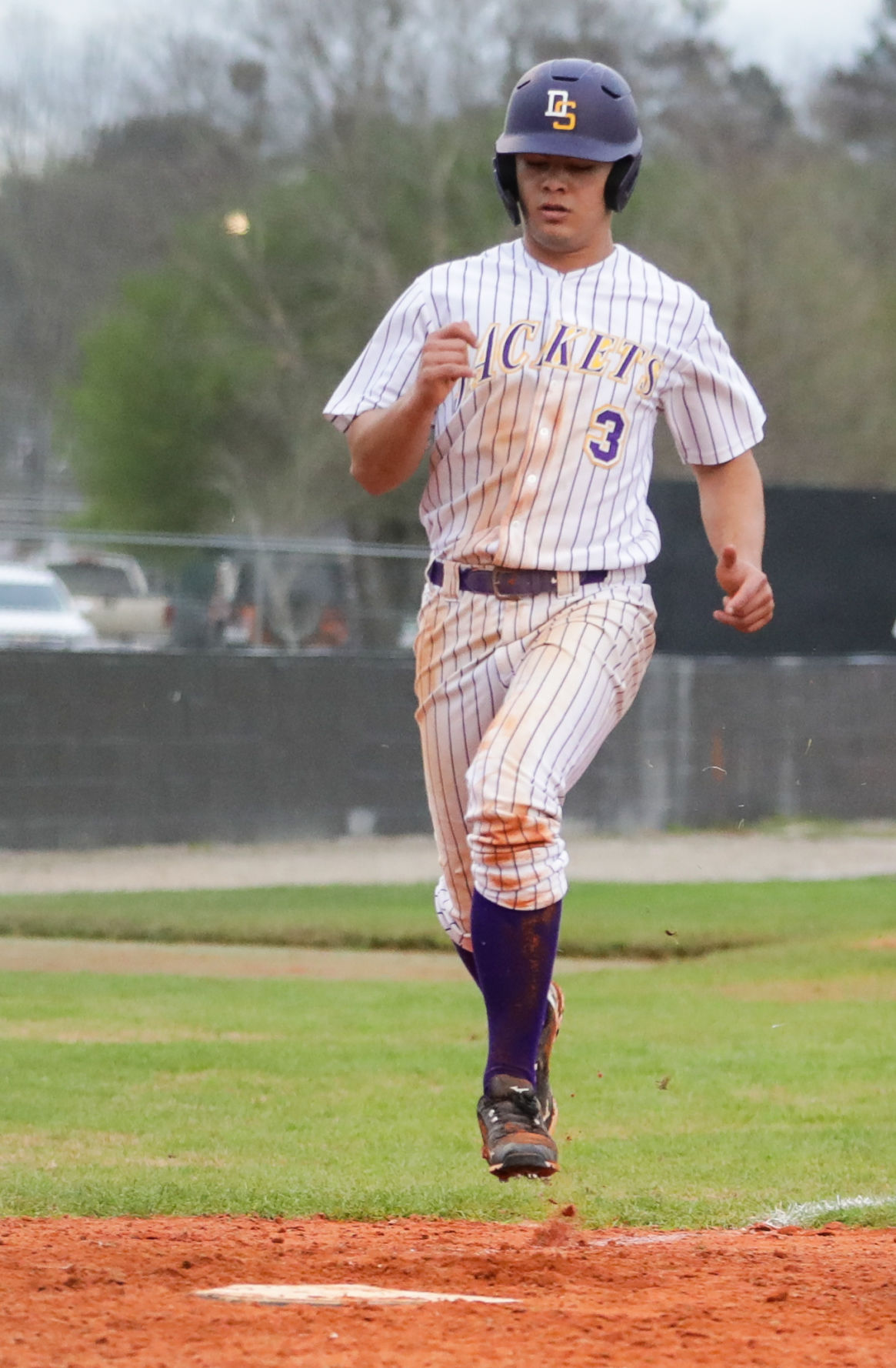 St. Amant at Denham Springs baseball Josh Preston