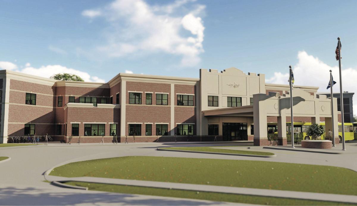 Denham Springs Elementary Rendering 4