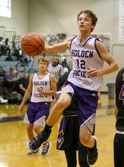 Doyle summer basketball vs. Holden: Coley Courtney (12)