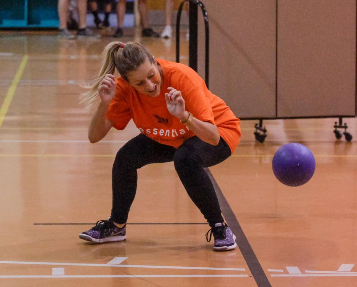 Livingston Young Professionals' dodgeball tournament