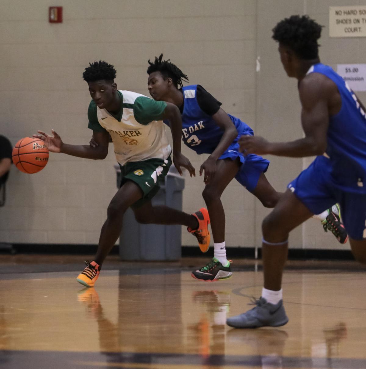 Walker vs. Live Oak basketball Brian Thomas Darian Ricard