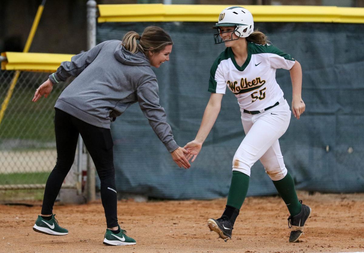 Walker softball vs. Sumner: Lainey Bailey