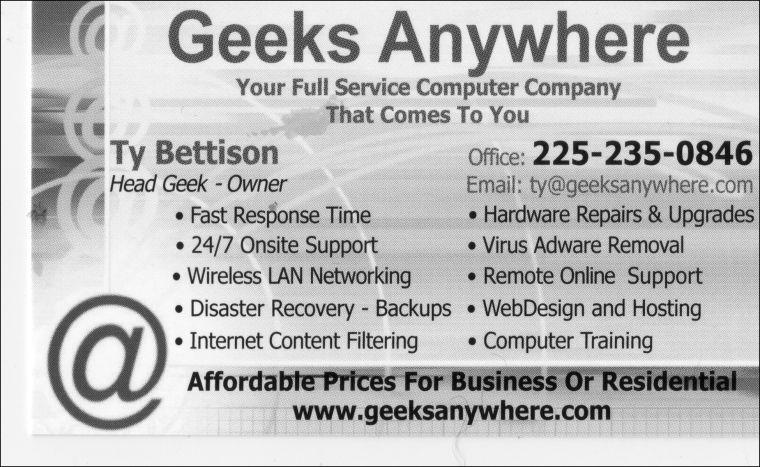 Geeks Anywhere