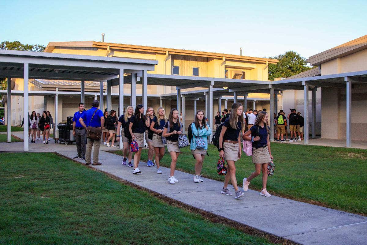 First Day of School Live Oak High