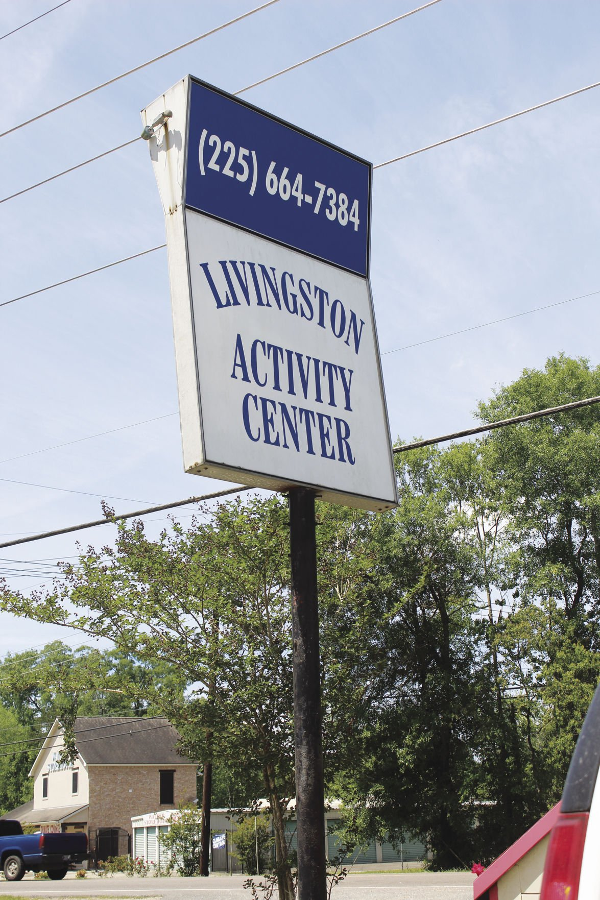 activity center sign