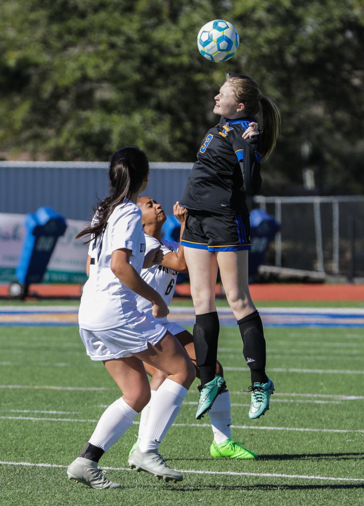 University High at Live Oak girls Soccer Haley Bordelon