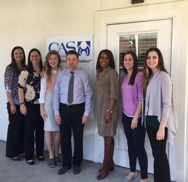 Denton visits Child Advocacy Services
