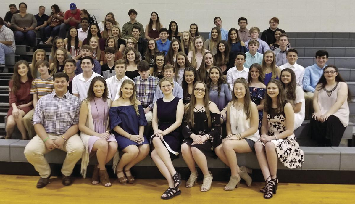 French Settlement High Beta Club induction ceremony