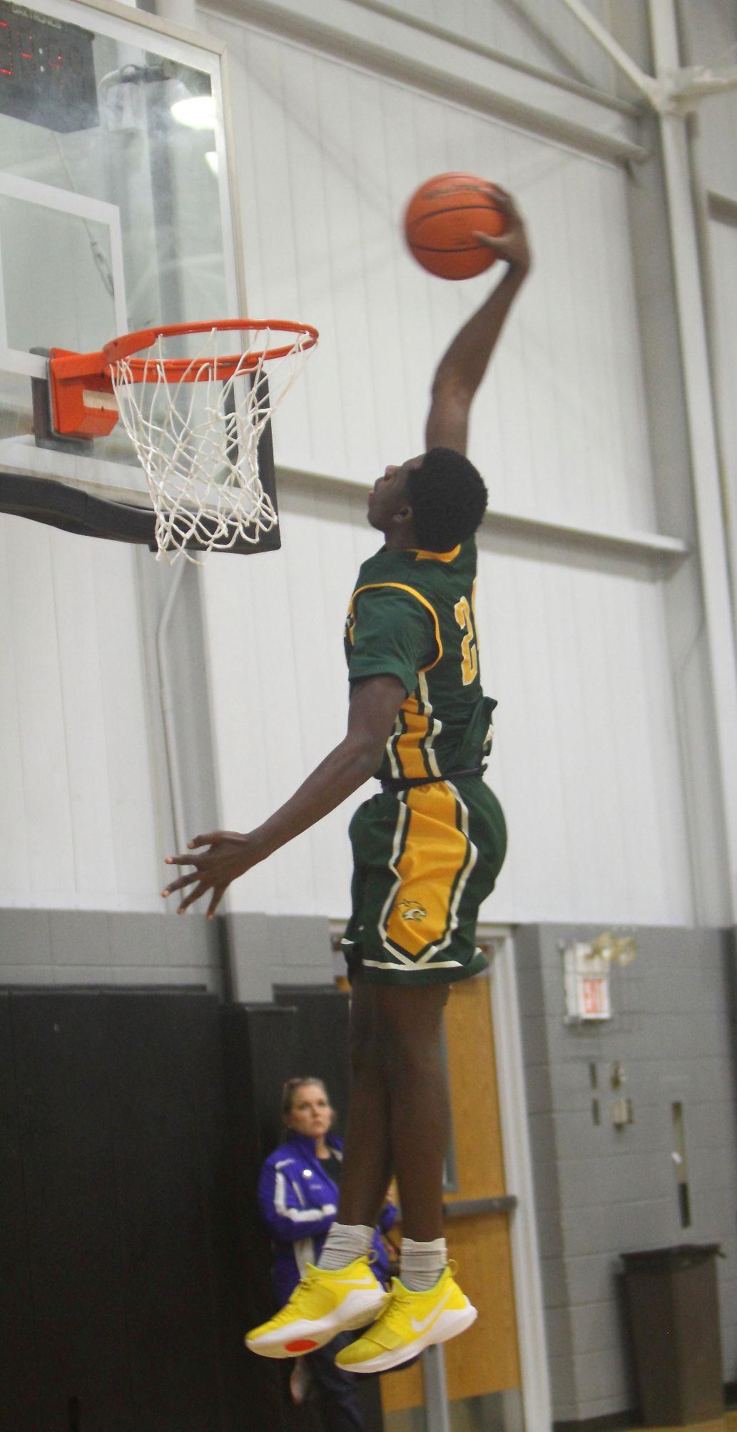 Walker & Catholic boys basketball Jalen Perkins