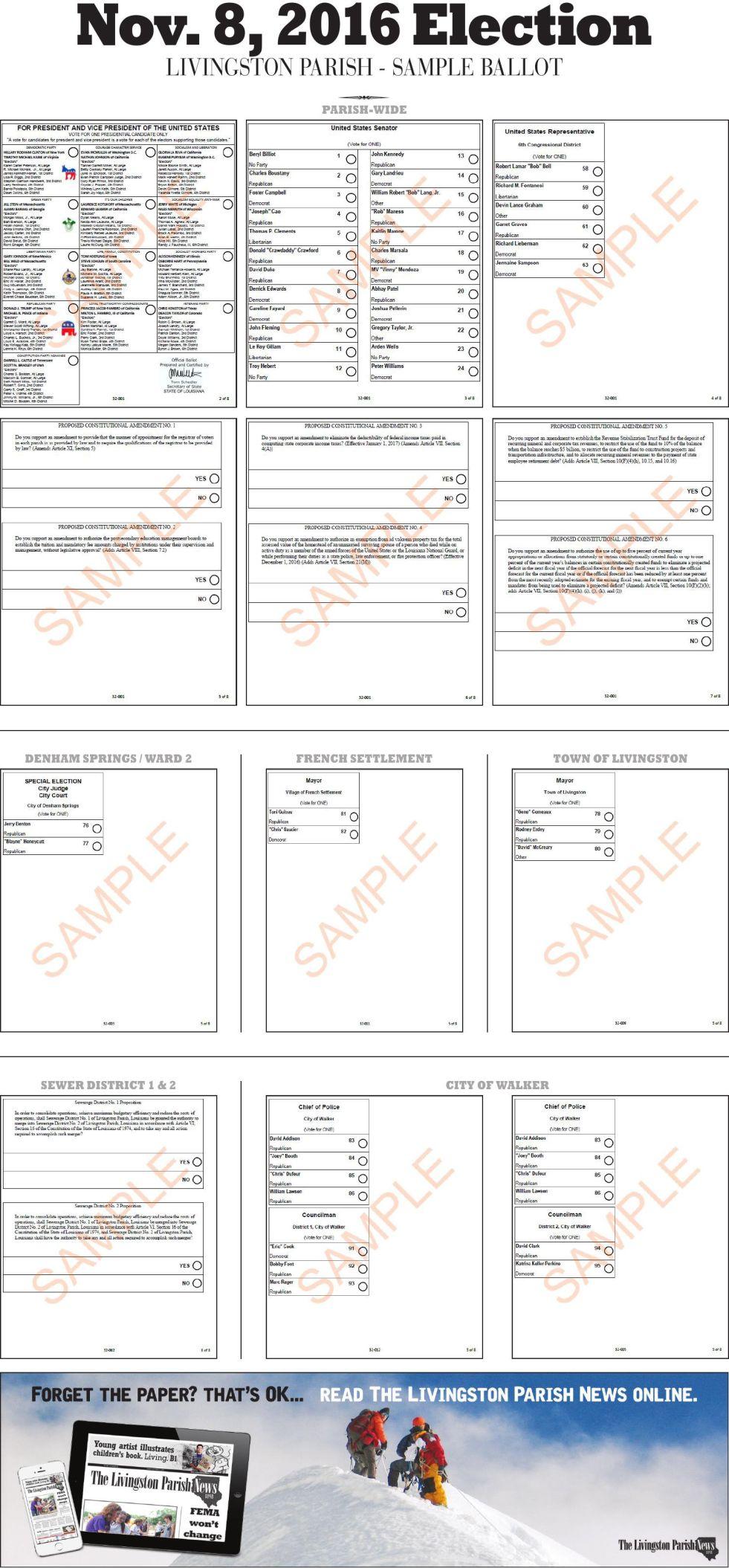 2016 sample ballot.pdf     livingstonparishnews.com