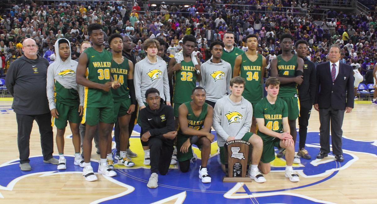 Walker vs Thibodaux boys basketball team