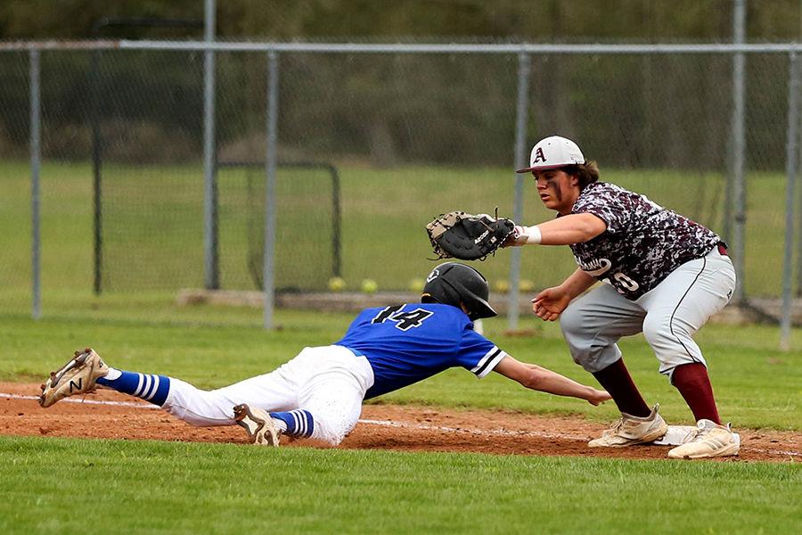 Albany vs Springfield baseball Bryden Dowers Joey Smith